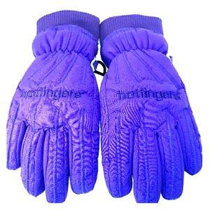 Purple Ski Gloves